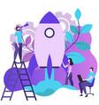 app development for website and mobile website vector image