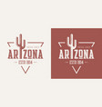 arizona state textured vintage t-shirt and vector image vector image