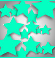 background with stars vector image vector image