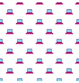 Laptop pattern cartoon style vector image vector image