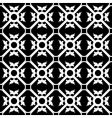 symmetrical flower pattern vector image vector image
