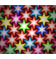 Stars pattern vector image
