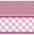 fabric background vector image