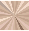 Retro rays background vector image vector image