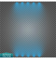 special light effects realistic bright projectors vector image vector image