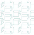 toilet paper icon seamless pattern paper vector image vector image