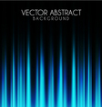 Blue lights abstract background vector image vector image