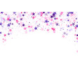 chaotic holiday decor backdrop vector image vector image