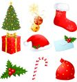 Christmas symbols vector | Price: 3 Credits (USD $3)