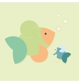 colour creative fish vector image vector image