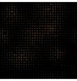digital letters pattern vector image vector image
