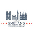Independence Day England vector image vector image