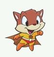 Kitten Superhero vector image vector image