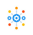 process automation icon with gears