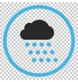 Rain Cloud Icon vector image vector image