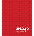 red upload background vector image vector image