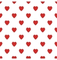 Seamless pattern with small hearts Valentines Day vector image