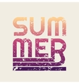 summer typography t-shirt graphics vector image vector image