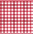 table cloth texture vector image vector image