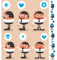 Talking on phone vector | Price: 3 Credits (USD $3)