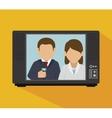 tv news design vector image