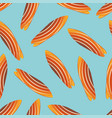 classic surfboard seamless pattern two-sided vector image