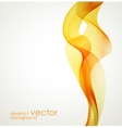 Abstract colorful waved background vector image vector image