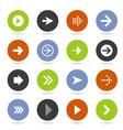Arrow icon8 vector image vector image