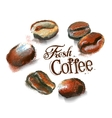 coffee logo design template cafeteria or vector image vector image