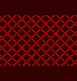 cross pattern vector image vector image