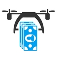 Drone Payment Icon vector image vector image