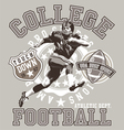 football college vector image vector image