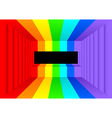 rainbow room vector image