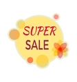 Sale Sticker in Flat Design vector image vector image