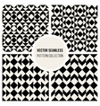Seamless Square Geometric Pattern