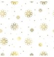 The snowflakes pattern vector image vector image