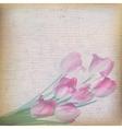 Vintage floral background EPS 10 vector image vector image