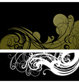 6floral line 62 1 vector image vector image
