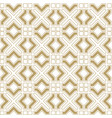 abstract seamless geometrical pattern in arabian vector image