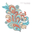 Beautiful Indian floral ornament Wedding vector image vector image