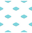 curly cloud pattern flat vector image vector image