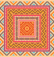 ethnic style abstract geometric pattern vector image vector image