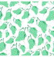 grapes wine fruit summer seamless pattern eps10 vector image vector image