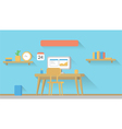 Home Office Setup vector image