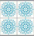 lisbon tiles azujelo moroccan seamless vector image vector image