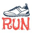 Run sport motivation vector image vector image