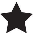 star black icon star icon eps vector image vector image