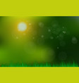 abstract green and blue blurred gradient vector image vector image