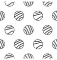 circle geo line shapes hipster seamless vector image vector image