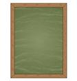 Menu Chalkboard vector image